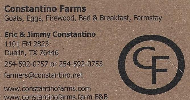 Constantino Farms Bed & Breakfast