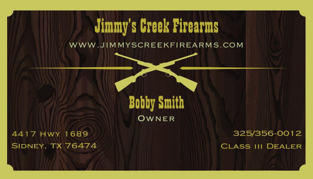 Jimmy's Creek Firearms